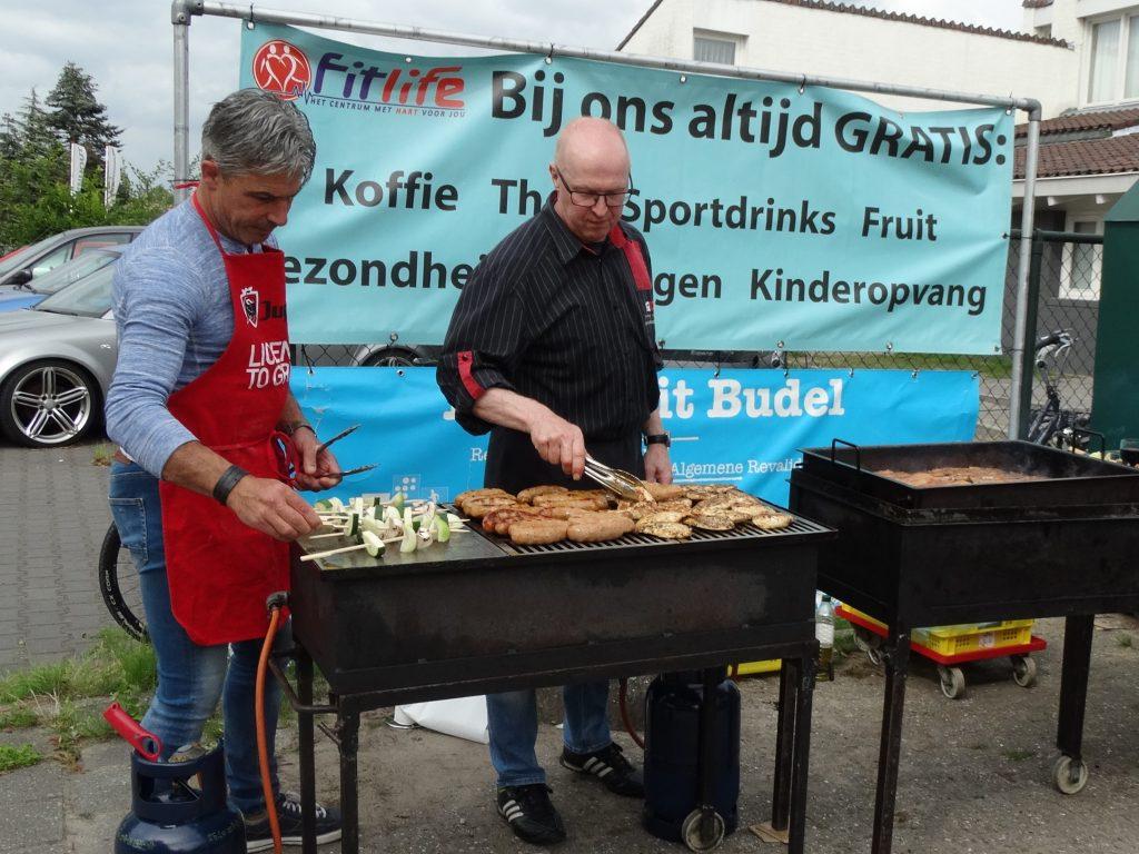 Leden Barbecue 2018 Fitlife Budel